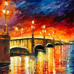 The Night Bridge art print by Gallerist