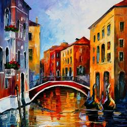 The Venice View art print by Gallerist