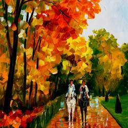 Horse Riding art print by Gallerist