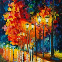 Couple walk 2 art print by Gallerist