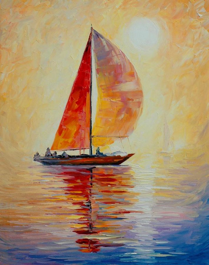 The Sailing boat