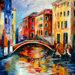 Venice view art print by Gallerist