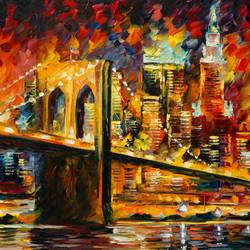 Brooklyn Bridge art print by Gallerist