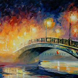 Lamp Bridge art print by Gallerist