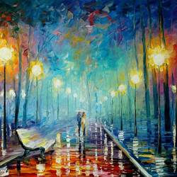 The Night walk 2 art print by Gallerist