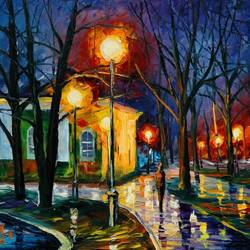 Night Time art print by Gallerist