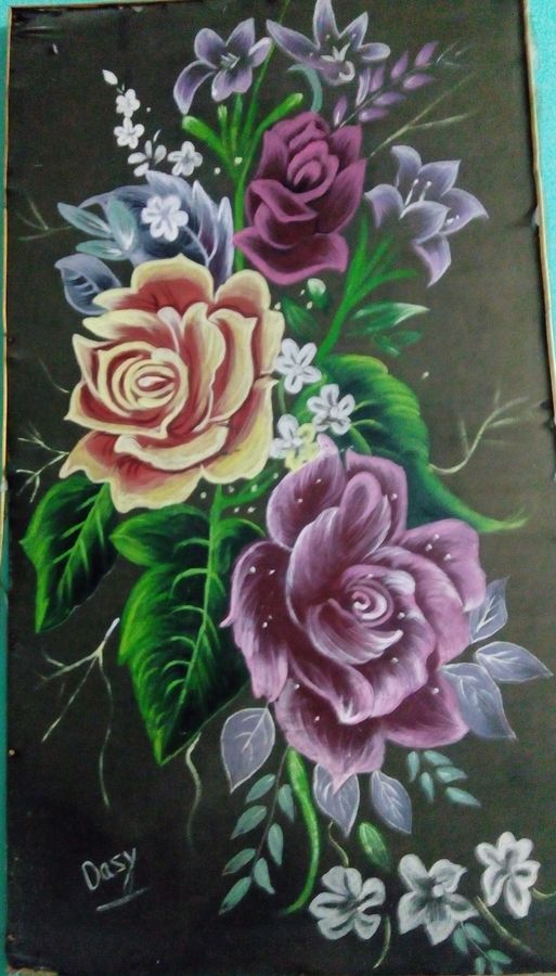 poster, 17 x 31 inch, aftab alam,flower paintings,cloth,fabric,17x31inch,GAL04691122