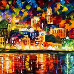 Colourful City art print by Gallerist