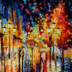 Evening Street art print by Gallerist