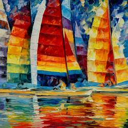 The Boats 4 art print by Gallerist