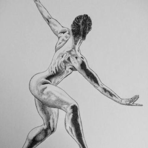 dancer , 11 x 14 inch, biju puthiyapurail,figurative drawings,paintings for living room,drawings,conceptual drawings,fine art drawings,impressionist drawings,paintings for hotel,ivory sheet,ball point pen,11x14inch,GAL04741127