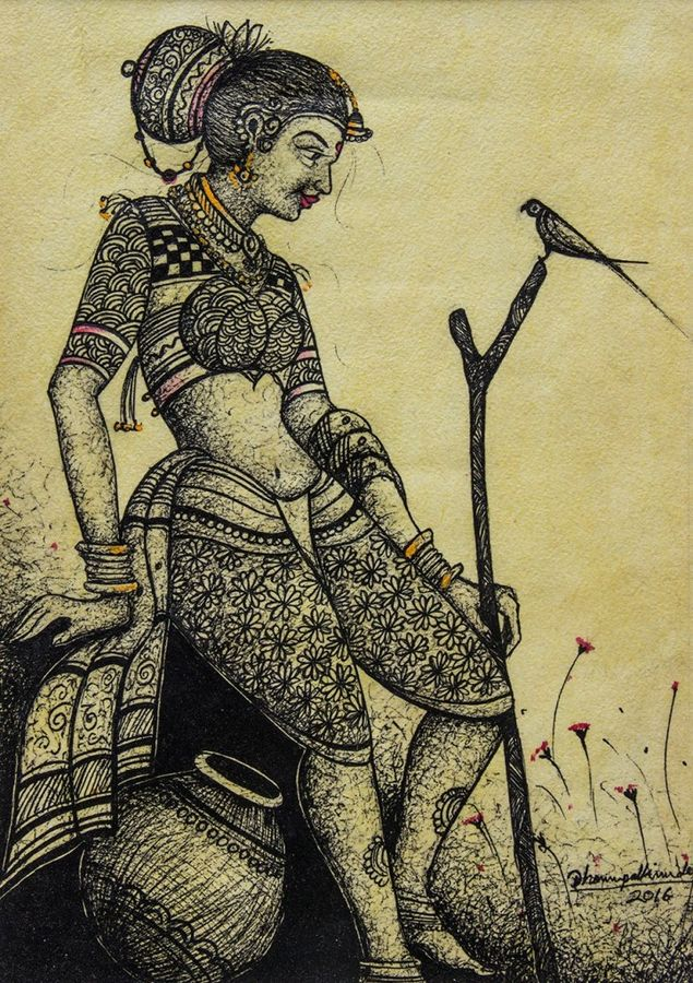 Traditional Woman