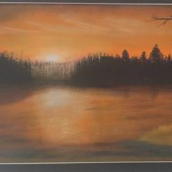 scenery of sunset , 24 x 18 inch, nadish sambyal,landscape paintings,nature paintings,realistic paintings,water fountain paintings,paintings for living room,paintings for bedroom,paintings for office,paintings for bathroom,paintings for kids room,paintings for hotel,paintings for kitchen,paintings for living room,paintings for bedroom,paintings for office,paintings for bathroom,paintings for kids room,paintings for hotel,paintings for kitchen,canvas,acrylic color,24x18inch,GAL0479911291Nature,environment,Beauty,scenery,greenery