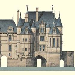 Chateau De Chenonceau art print by Gallerist