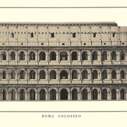 Roma Colosseo art print by Gallerist