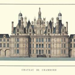 Chateau De Chambord art print by Gallerist