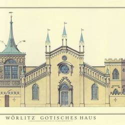 Worlitz Gotisches Haus art print by Gallerist