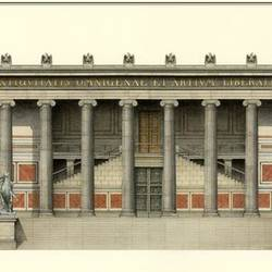 Berlin Altes Museum art print by Gallerist