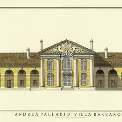 Andrea Palladio Villa Barbaro art print by Gallerist