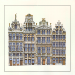 Bruxelles Grand Place art print by Gallerist