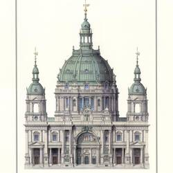 Berlin Dom art print by Gallerist