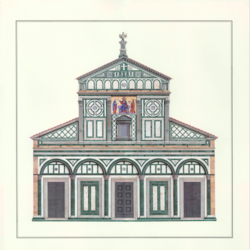 Firenze San Miniato art print by Gallerist