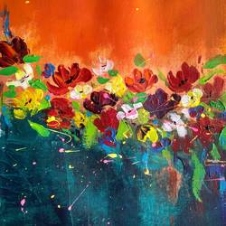 flower love, 11 x 14 inch, vandana mehta,paintings,abstract paintings,flower paintings,love paintings,paintings for bedroom,paintings for office,paintings for hotel,paintings for kitchen,canson paper,acrylic color,11x14inch,GAL0402311344heart,family,caring,happiness,forever,happy,trust,passion,romance,sweet,kiss,love,hugs,warm,fun,kisses,joy,friendship,marriage,chocolate,husband,wife,forever,caring,couple,sweetheart