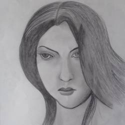 face of fashion, 11 x 15 inch, sangita  dey,drawings,portrait drawings,paintings for living room,drawing paper,pencil color,11x15inch,GAL0483711382