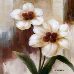 Two flowers art print by Gallerist