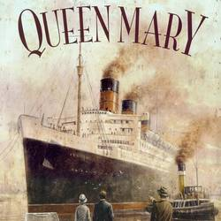 Queen Mary art print by Gallerist
