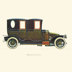 Renault art print by Gallerist