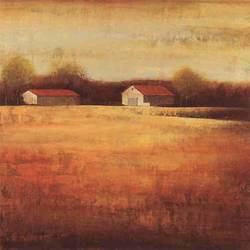 Farm house art print by Gallerist