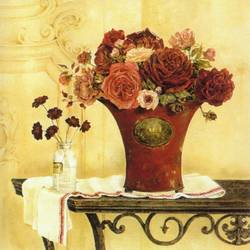 Red Vase art print by Gallerist