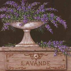 Lavande art print by Gallerist