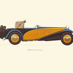 Yellow car 2 art print by Gallerist