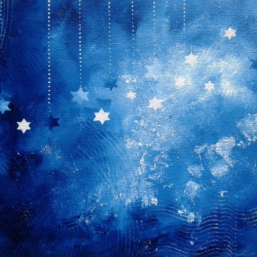 starry mystery, 13 x 9 inch, hitesh kumar,abstract paintings,paintings for dining room,paintings for living room,paintings for bedroom,paintings for hotel,canvas,oil,13x9inch,GAL0411511635
