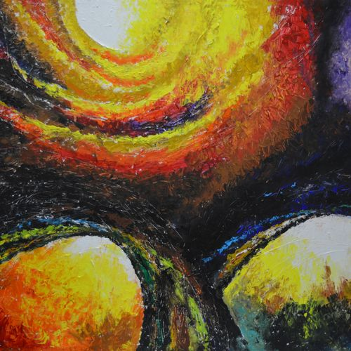 evolution, 45 x 36 inch, anuj malhotra,abstract paintings,paintings for living room,canvas,mixed media,45x36inch,GAL04841167