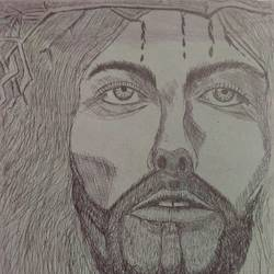 jesus christ , 10 x 13 inch, mariam vasava,drawings,portrait drawings,thick paper,ink color,10x13inch,GAL0491611671