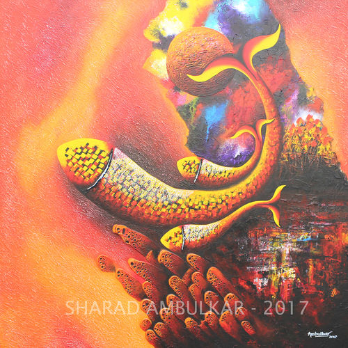 emotions - 45, 36 x 36 inch, sharad ambulkar,paintings,abstract paintings,paintings for dining room,paintings for living room,paintings for bedroom,paintings for office,paintings for hotel,paintings for dining room,paintings for living room,paintings for bedroom,paintings for office,paintings for hotel,canvas,acrylic color,36x36inch,GAL0494711679