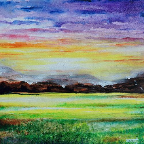 dreamer 7, 12 x 12 inch, anuj malhotra,modern art paintings,paintings for living room,canvas,mixed media,12x12inch,GAL04841178