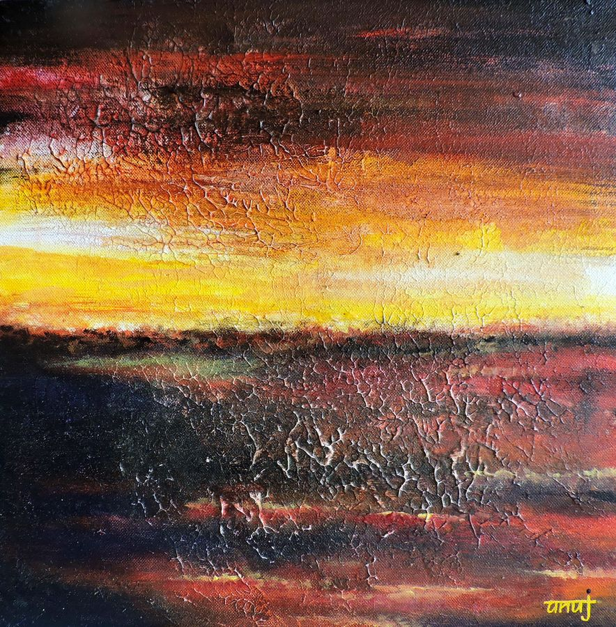dreamer 9, 12 x 12 inch, anuj malhotra,modern art paintings,paintings for living room,canvas,mixed media,12x12inch,GAL04841180