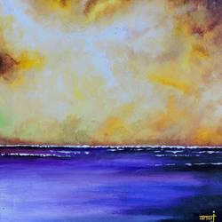 dreamer 10, 12 x 12 inch, anuj malhotra,modern art paintings,paintings for living room,canvas,mixed media,12x12inch,GAL04841182