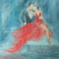 dancing in the rain, 36 x 36 inch, anjali yadav,paintings,figurative paintings,love paintings,paintings for living room,paintings for bedroom,paintings for hotel,canvas,mixed media,36x36inch,GAL0465012008heart,family,caring,happiness,forever,happy,trust,passion,romance,sweet,kiss,love,hugs,warm,fun,kisses,joy,friendship,marriage,chocolate,husband,wife,forever,caring,couple,sweetheart