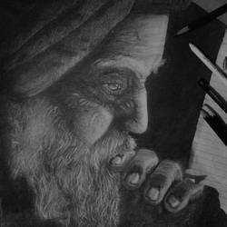 sikh farmer, 12 x 17 inch, amol ranjan,drawings,realism drawings,thick paper,graphite pencil,12x17inch,GAL0503812052