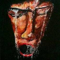 feelings..., 3 x 5 inch, sravan hiremath,paintings,conceptual paintings,fabriano sheet,acrylic color,3x5inch,GAL0504212056