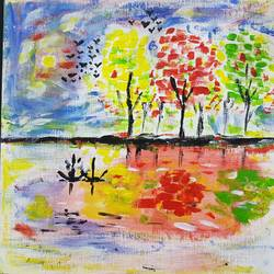 evening of colours, 12 x 12 inch, mehul dave,landscape paintings,nature paintings,paintings for dining room,paintings for living room,paintings for bedroom,paintings for office,paintings for hotel,paintings for dining room,paintings for living room,paintings for bedroom,paintings for office,paintings for hotel,canvas,acrylic color,12x12inch,GAL0501312105Nature,environment,Beauty,scenery,greenery
