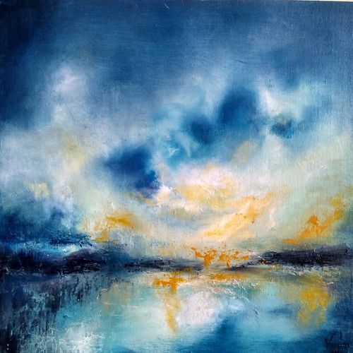 seeking solace, 22 x 15 inch, vandana mehta,paintings,abstract paintings,landscape paintings,minimalist paintings,contemporary paintings,paintings for dining room,paintings for living room,paintings for bedroom,paintings for office,paintings for hotel,paintings for dining room,paintings for living room,paintings for bedroom,paintings for office,paintings for hotel,canvas,oil,22x15inch,GAL0402312132
