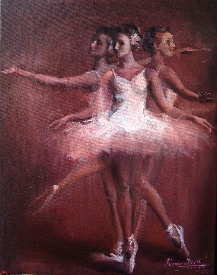 rhythm of life, 16 x 20 inch, purnima dixitt,figurative paintings,paintings for dining room,paintings for living room,paintings for bedroom,paintings for office,paintings for hotel,canvas,oil paint,16x20inch,GAL0511912166