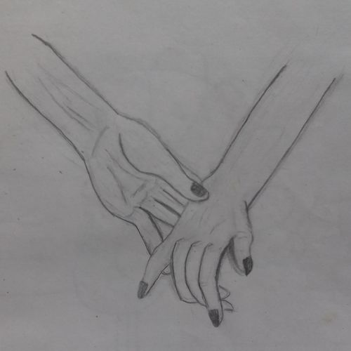 supporting hand , 17 x 18 inch, shaz artizay,paintings for bedroom,paintings for bathroom,paintings for kids room,paintings for hotel,fine art drawings,paintings for bedroom,paintings for bathroom,paintings for kids room,paintings for hotel,paper,graphite pencil,17x18inch,GAL0441112217