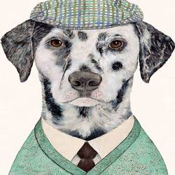 Desent dog  art print by Gallerist